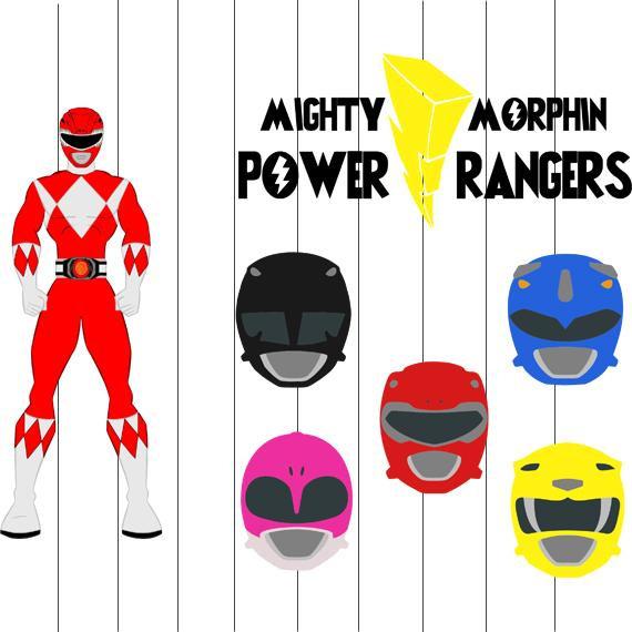 Power Rangers Svg, Clipart, Png, Eps Fil-Power Rangers Svg, Clipart, png, eps files, Power rangers Cut files for  cricut, Super hero Svg, Power rangers decal design for tranfer shirt-18