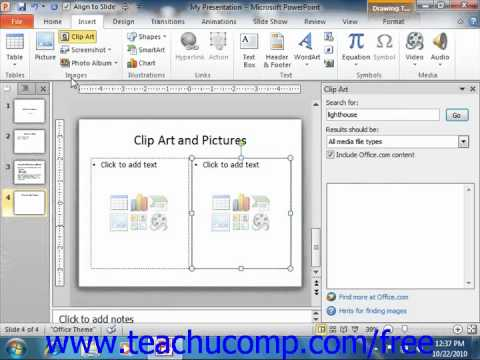 Powerpoint 2010 Tutorial .