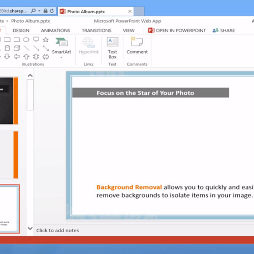 PowerPoint 2013 desktop:Insert clip art in PowerPoint Online | Cloud Direct