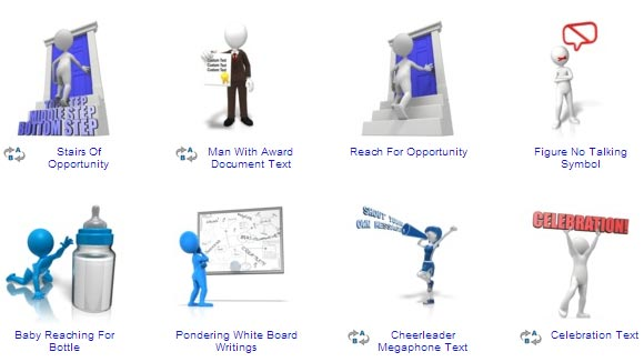 Powerpoint 3d People Clipart - Free Powerpoint Clipart