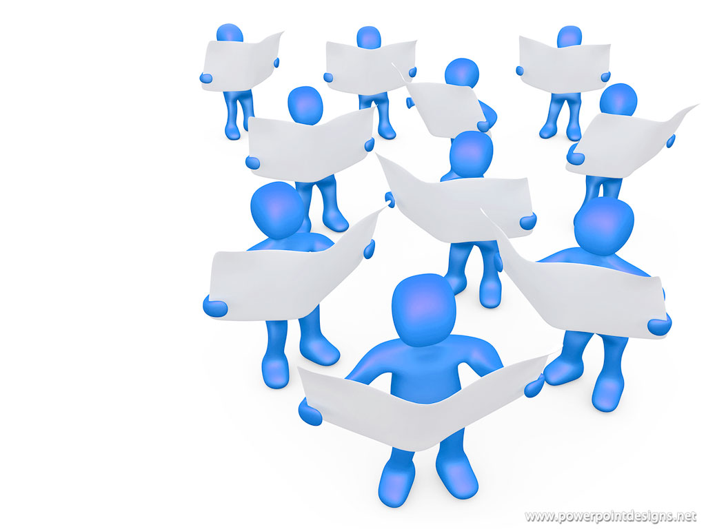 Powerpoint 3d People Clipart