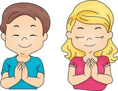 prayer clipart