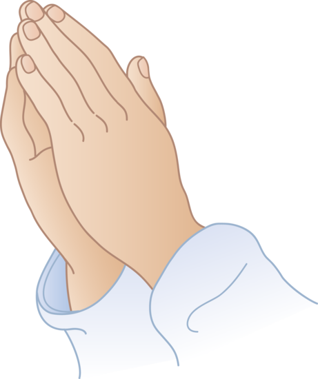 Prayer Hands Clip Art .-prayer hands clip art .-5
