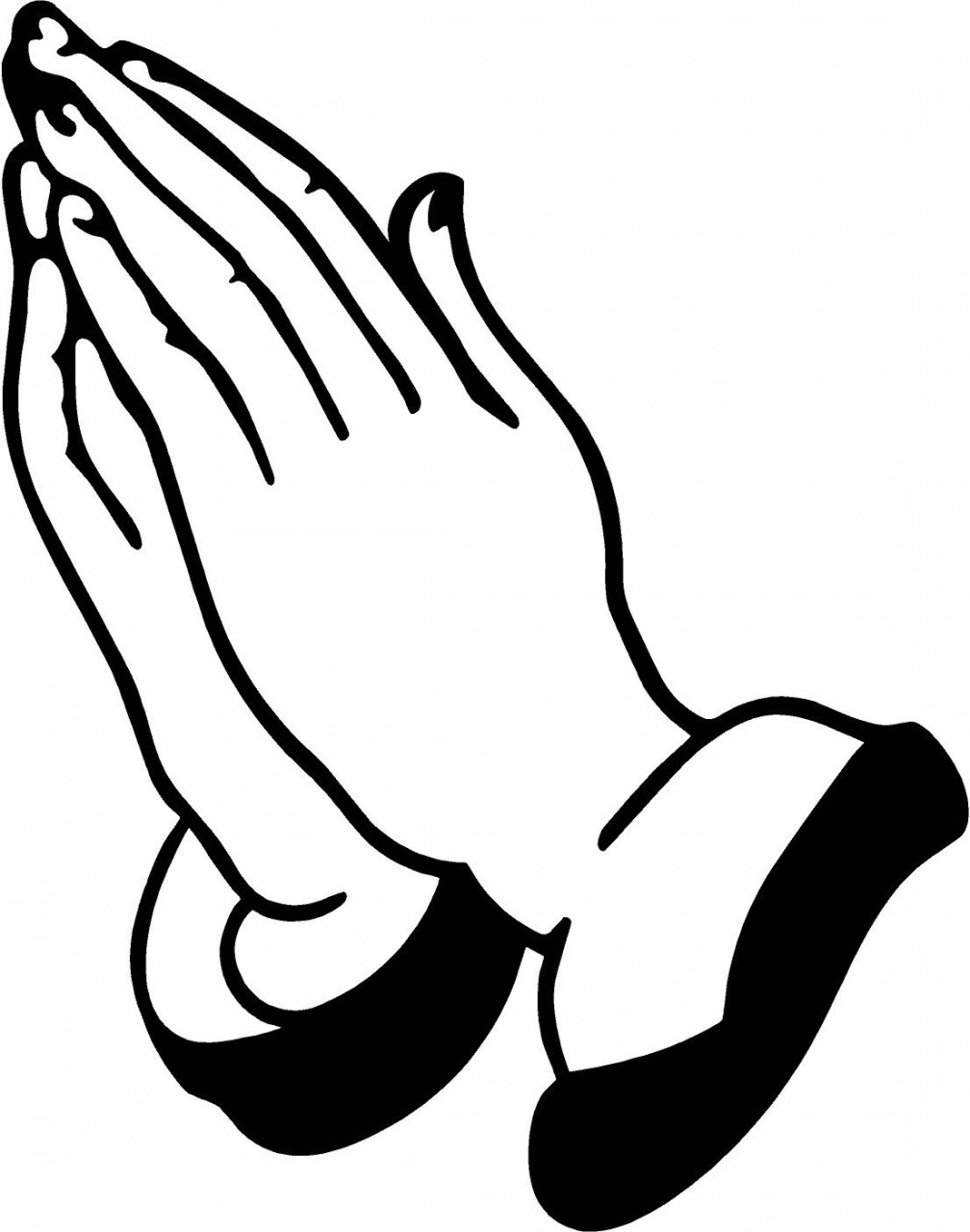 Prayer Hands Clipart Clipart .