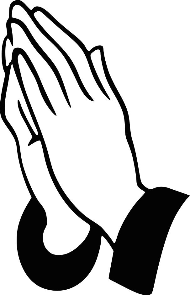 Praying Hands Clip Art - Clipart Praying Hands