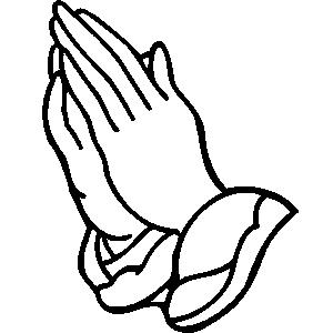 Children Praying Hands Clipar