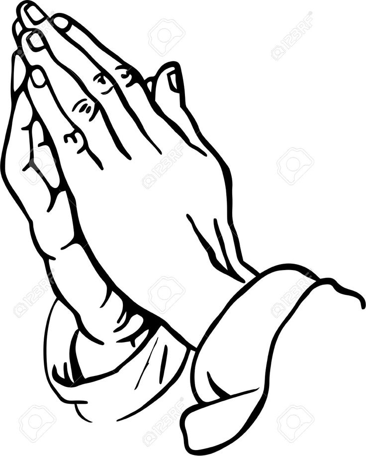 Praying Hands Clipart Stock P - Praying Hands Clipart