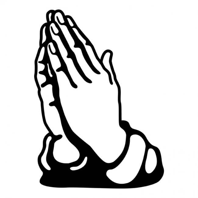 Praying hands praying hand prayer hands clipart clipart image 9 4