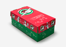 Pre-printed Shoeboxes - Operation Christmas Child Clipart
