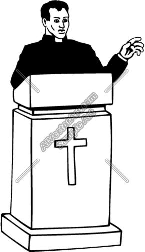 preacher clipart-preacher clipart-17