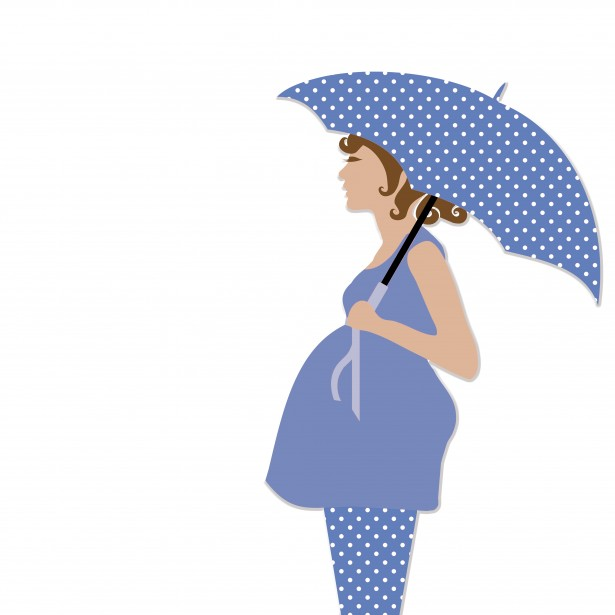 Pregnant Lady Clipart