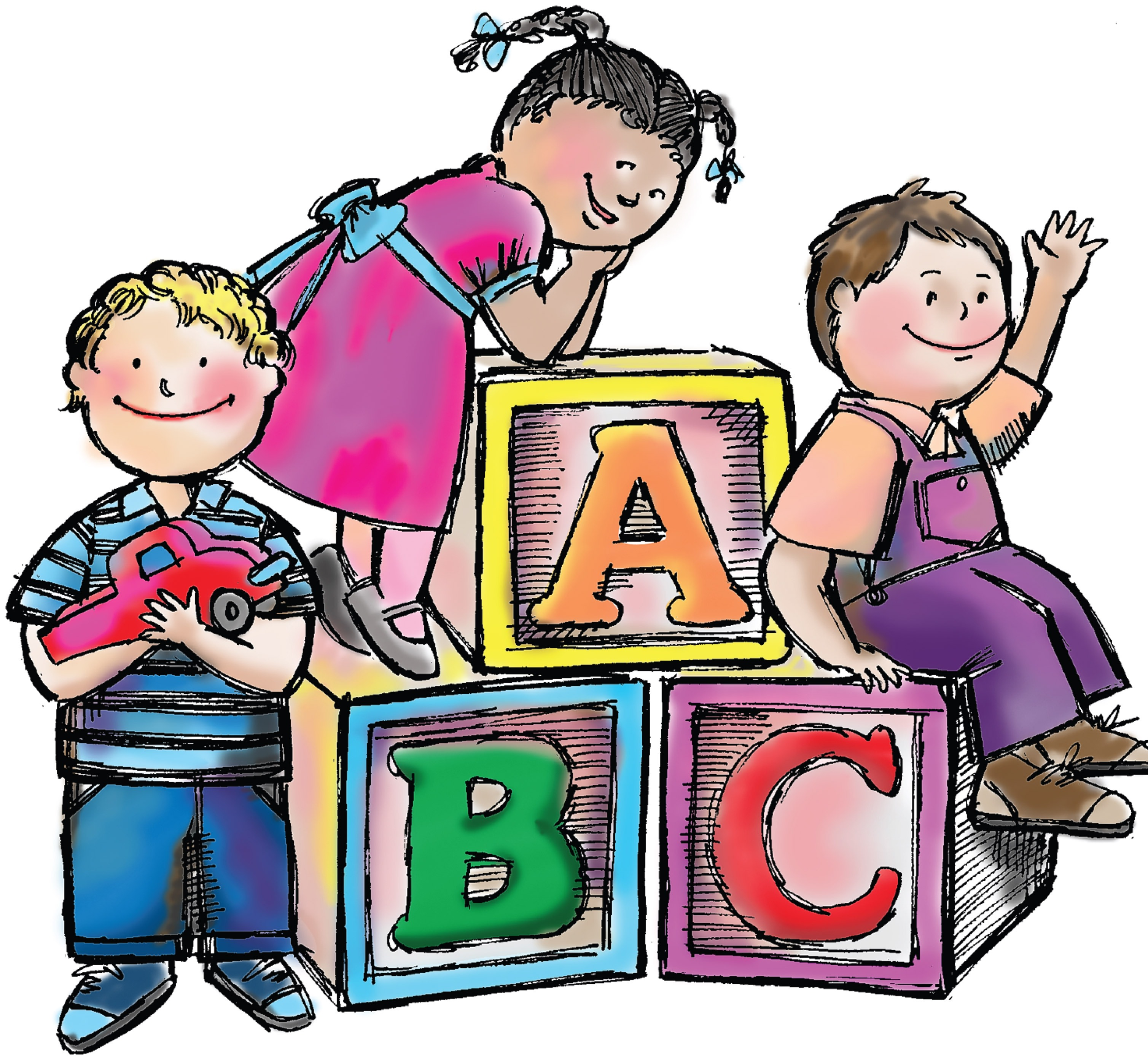 preschool teacher clip art