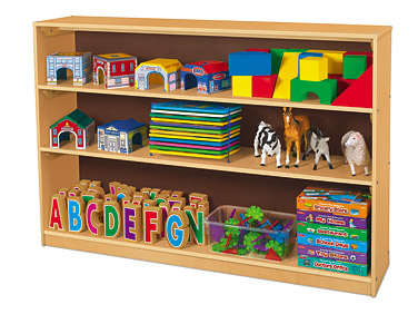 Preschool Classroom Library Wooden Shelves 100000 Foodservice