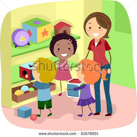 Preschool Clean Up Clipart #1