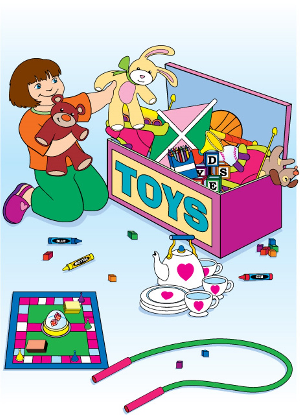 Preschool Clean Up Clipart .