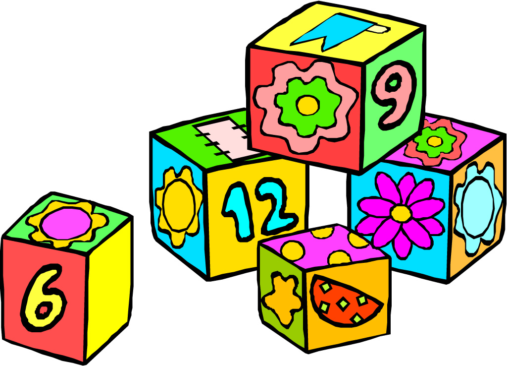 Preschool math clip art .