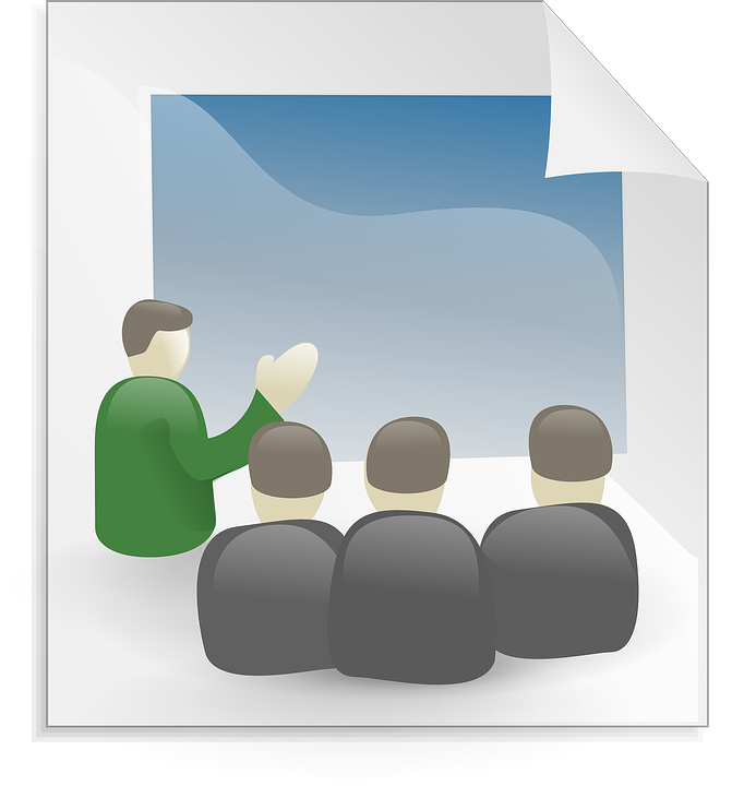 Presentation, Meeting, Busine - Free Business Clipart For Presentations