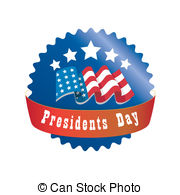 ... Presidents Day - A Red And Blue Roun-... presidents day - a red and blue round icon for presidents... presidents day Clipartby ...-9