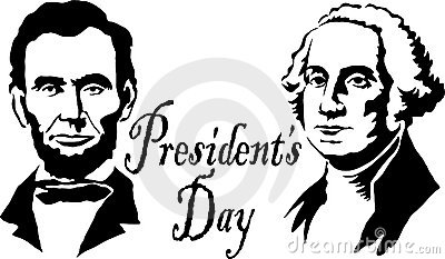 Presidents Day Clipart Black ... Abraham-Presidents Day Clipart Black ... Abraham Lincolns Birthday Clip .-11