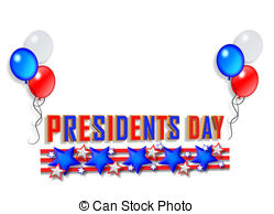 Presidents Day Sale Vector Clipartby vectorshots12/148; Presidents Day Border graphic - Illustration composition for.