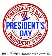 Presidents Day stamp