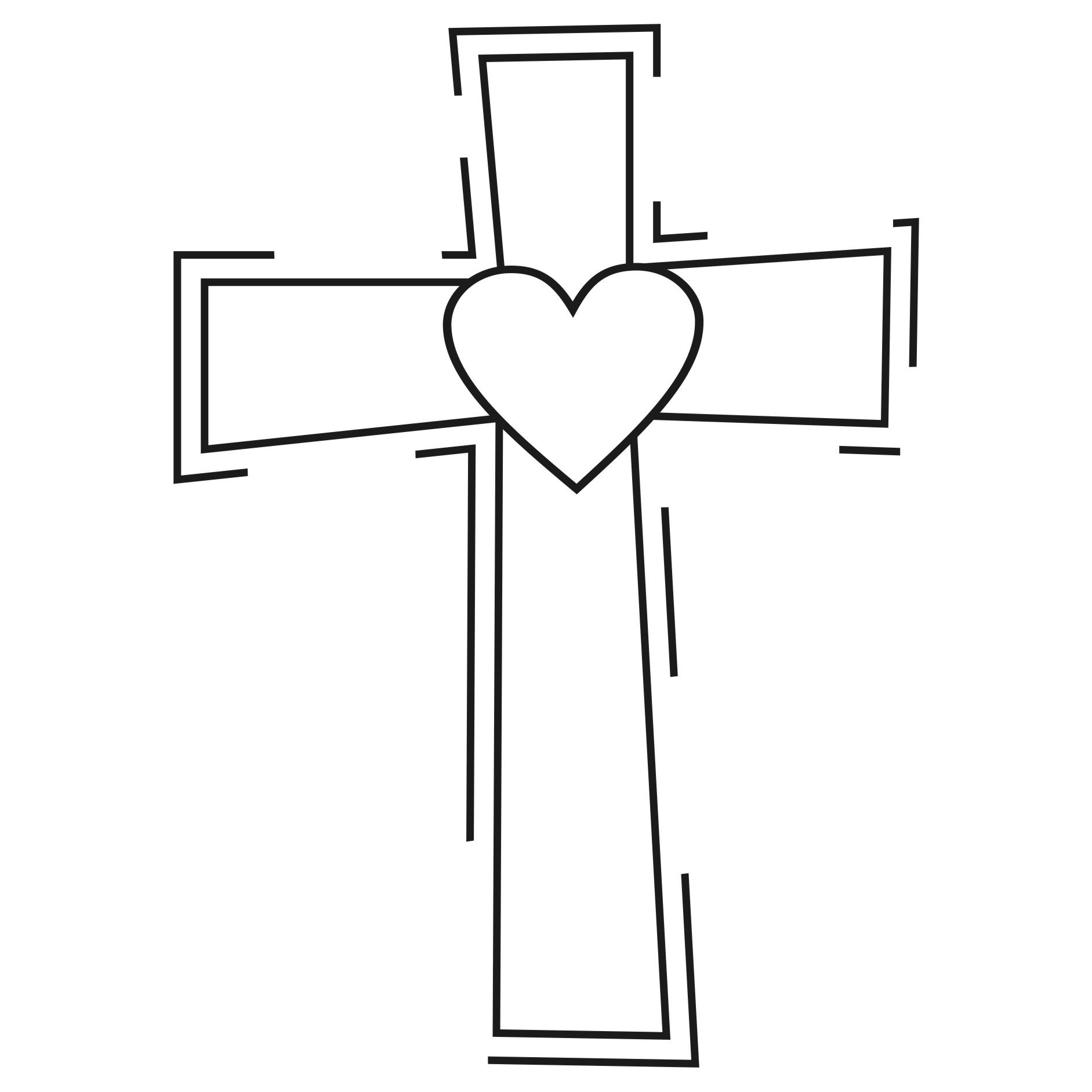 Pretty cross clipart clipart .