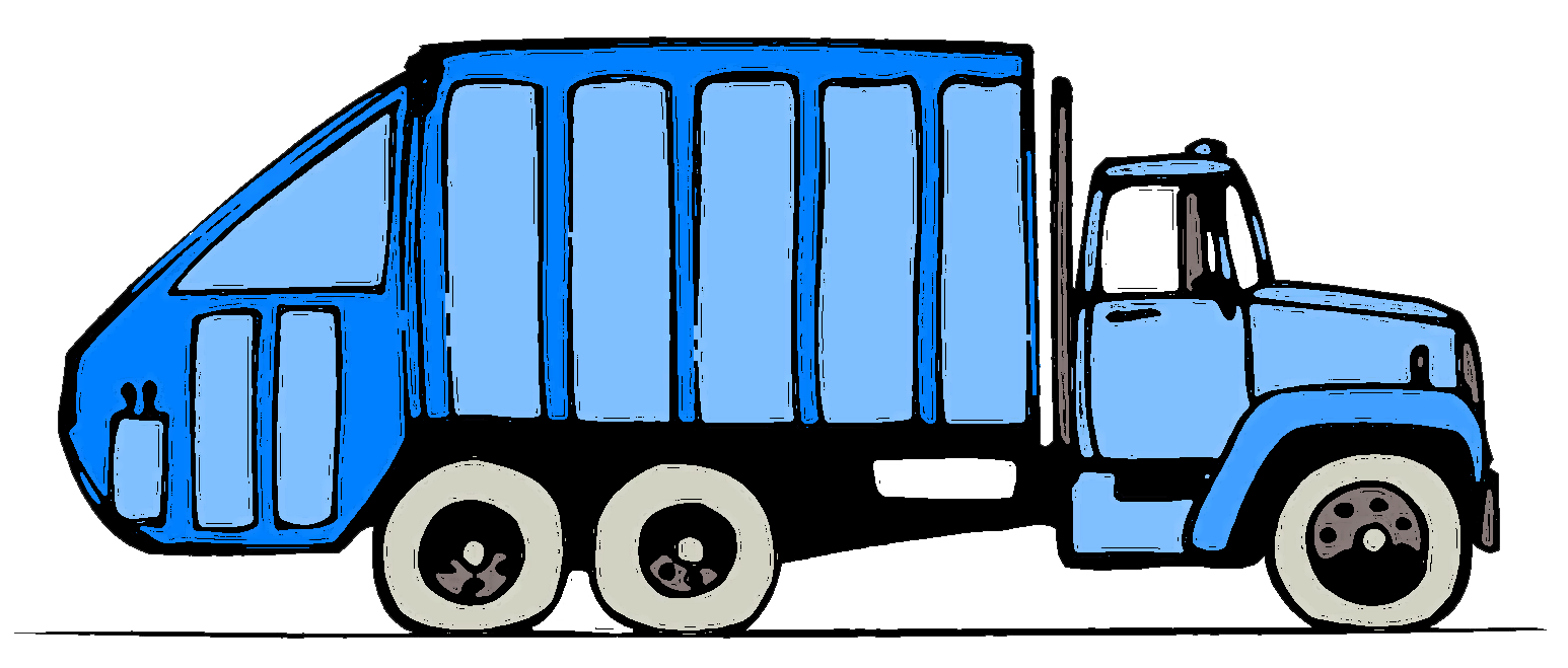 Pretty Garbage Truck Clipart .-Pretty Garbage Truck Clipart .-9