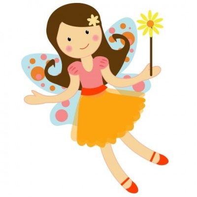 Pretty Garden Fairy Clipart Illustration-pretty garden fairy clipart illustration graphics-16