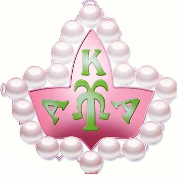Pretty Girls #20 Pearls #AKA - Aka Clipart