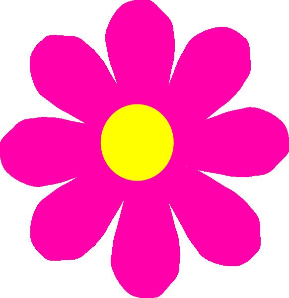 Pretty Pink Flower Clip Art At Clker Com-Pretty Pink Flower Clip Art At Clker Com Vector Clip Art Online-13