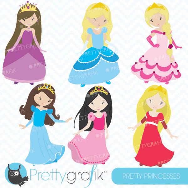 Pretty Princess Clipart Pretty Princess -Pretty princess clipart Pretty princess clipart [CL457]-14