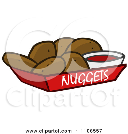 Preview Clipart - Chicken Nuggets Clipart