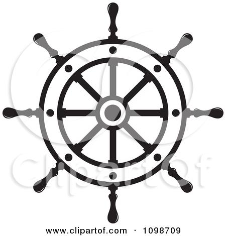 Preview Clipart - Ships Wheel Clip Art