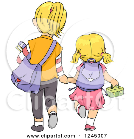 Preview Clipart - Sisters Clip Art