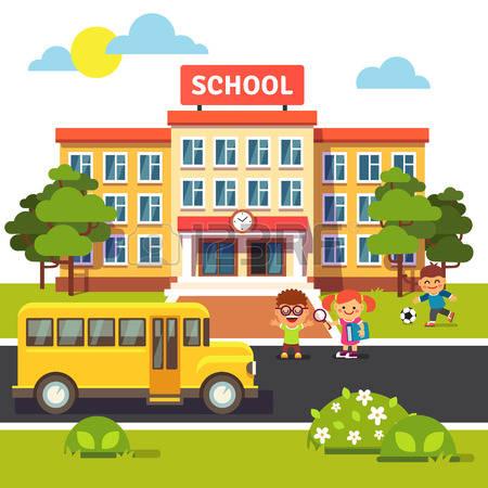 primary: School building .