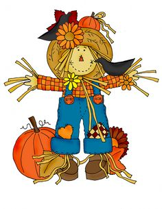 Primitive scarecrow clip art primitives clipart