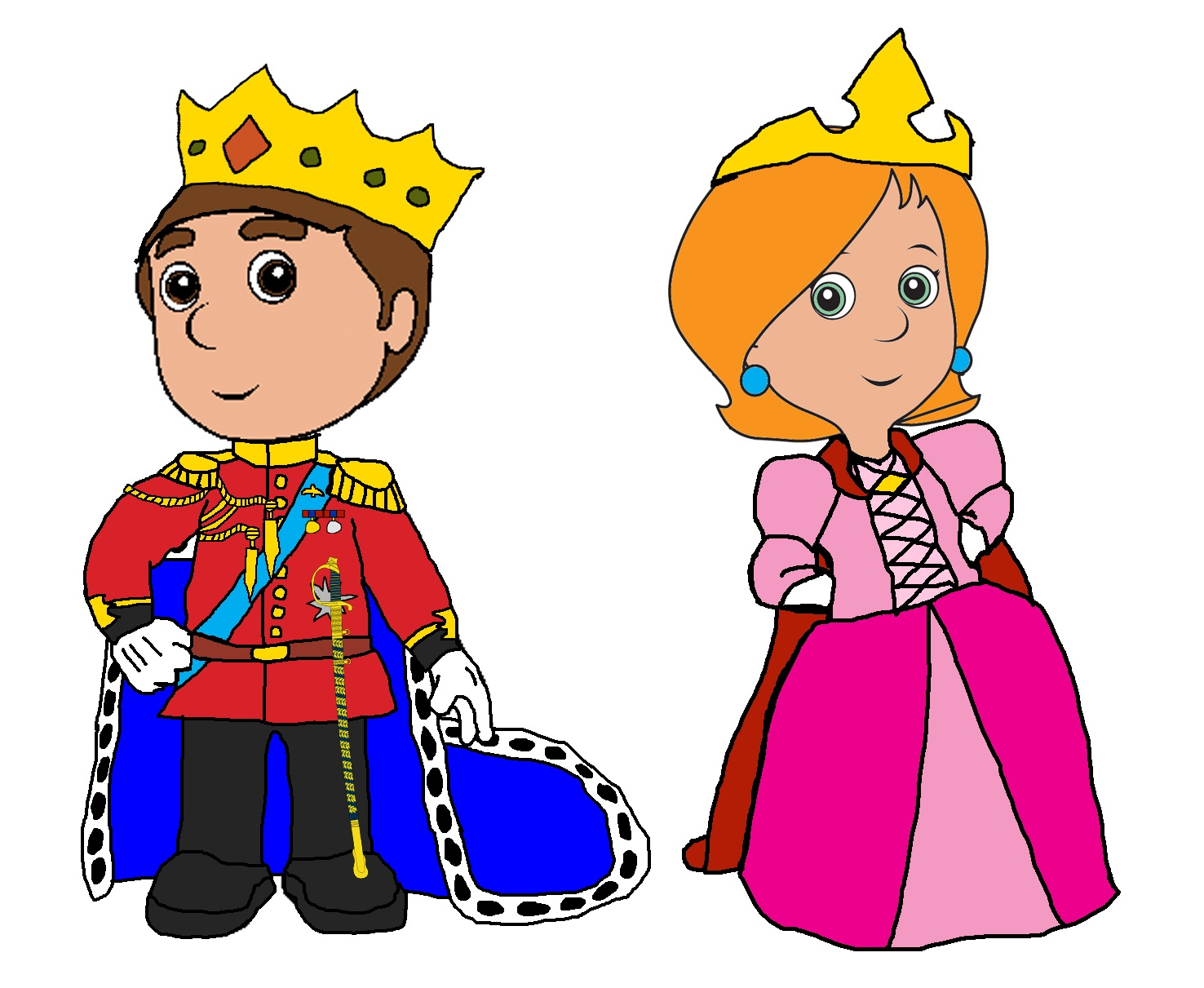 Prince And Princess Clip Art-Prince And Princess Clip Art-5