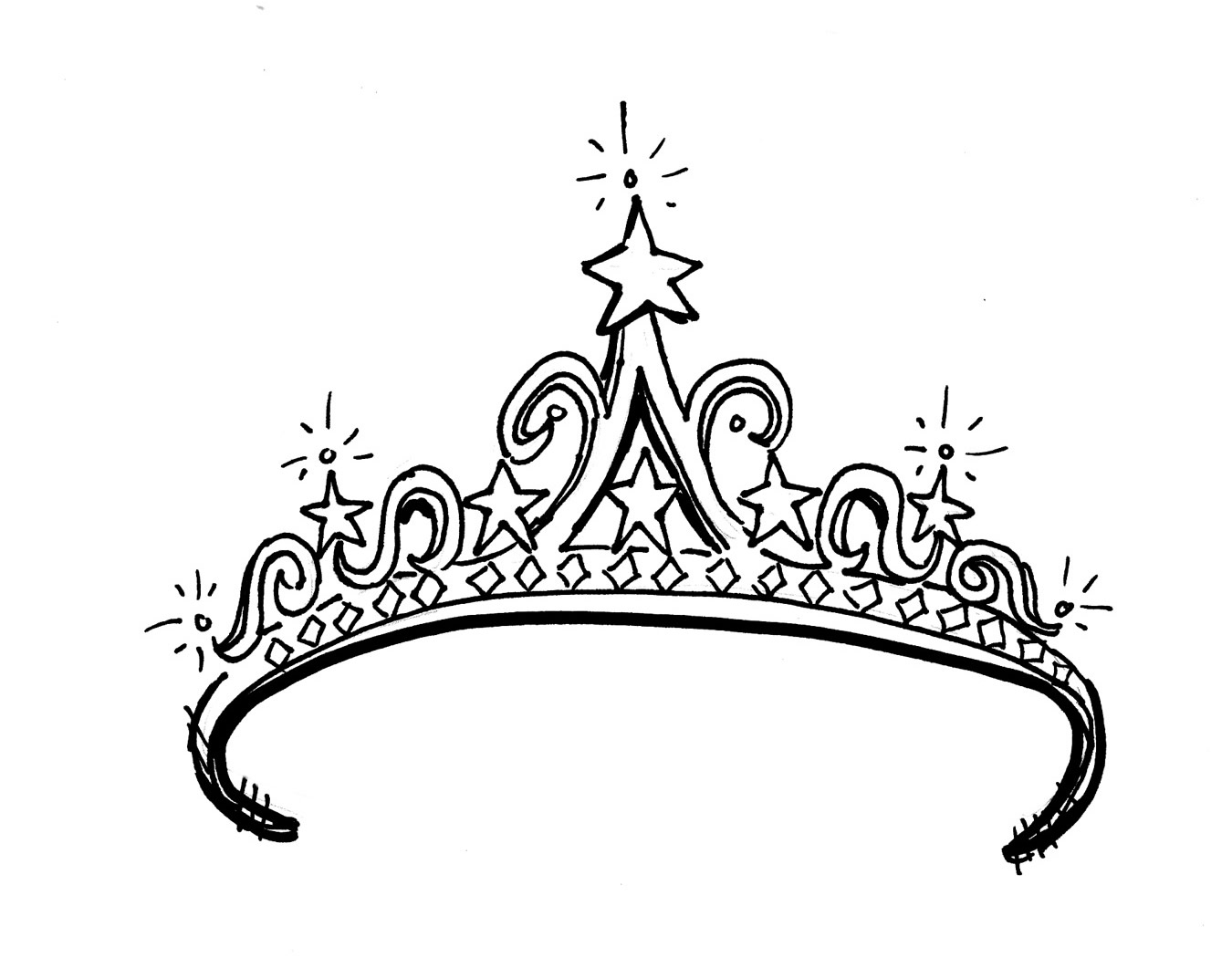 Prince And Princess Clipart . Tiara Blac-Prince And Princess Clipart . Tiara black princess crown .-9