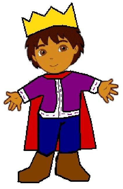 Prince Clipart Prince Diego Go Diego Go 8916753 422 651 Jpg