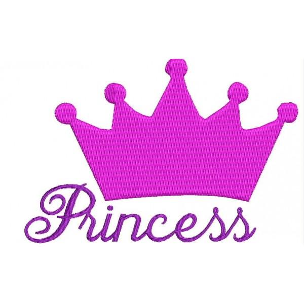 Princess Crown Embroidery Designs-Princess Crown Embroidery Designs-8