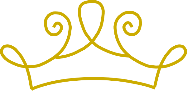 Princess Crown Gold Clip Art At Clker Co-Princess Crown Gold Clip Art At Clker Com Vector Clip Art Online-17