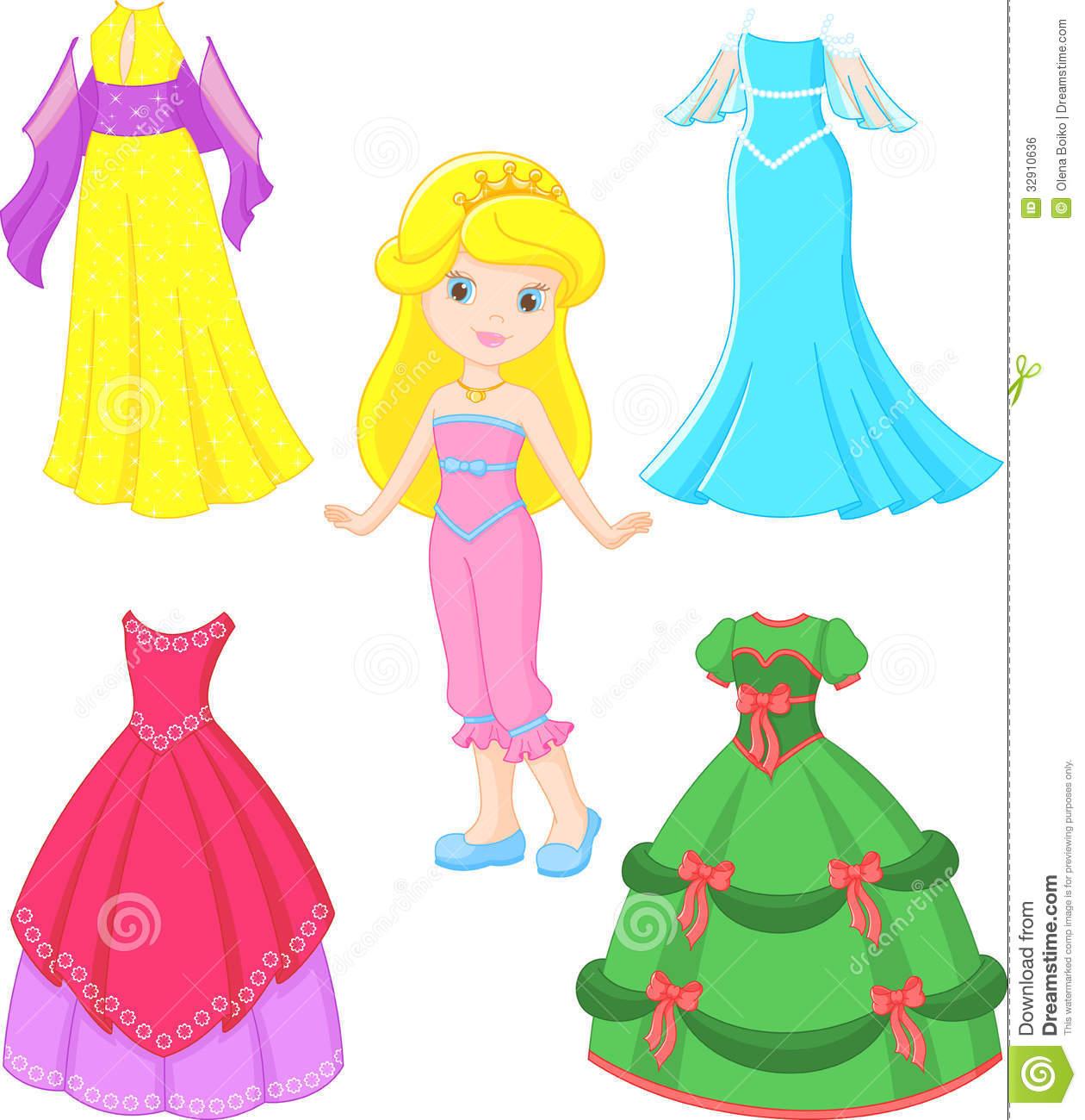 Princess Dress Clipart Princess Dress Clipartprincess Dress Royalty