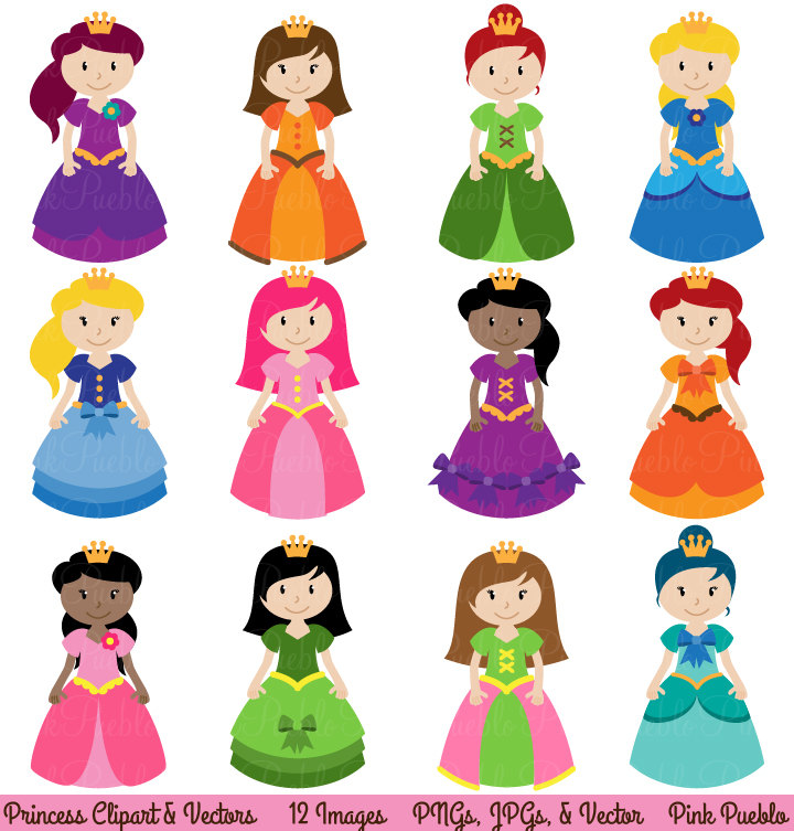 Princess Free Download Clipart