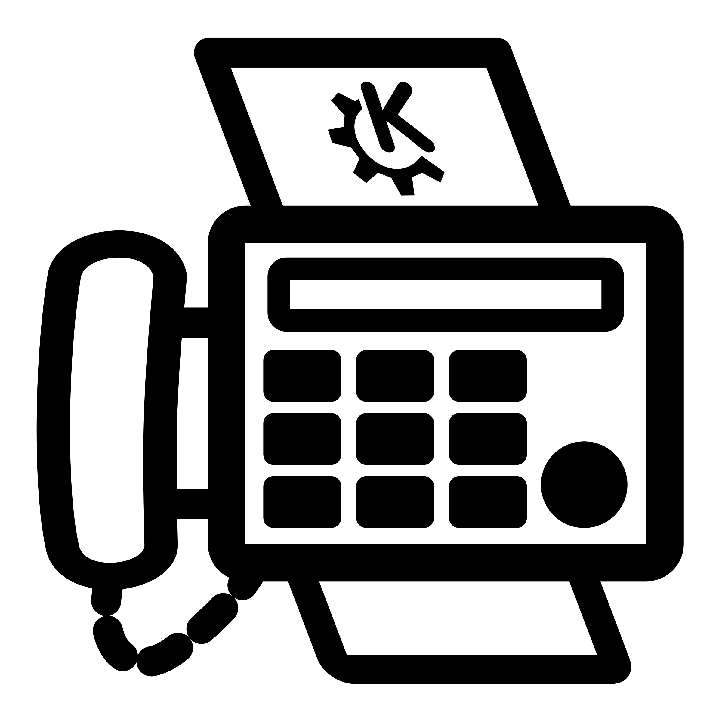 Print and Fax Icon-Print and Fax Icon-17