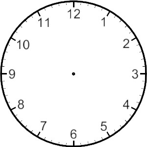 ... Printable Blank Clock Face - ClipArt Best ...