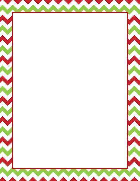 Printable Christmas chevron .
