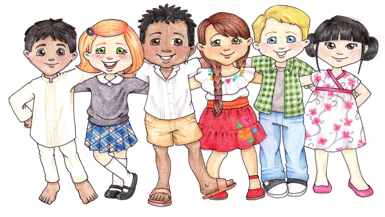 Printable clip art children-Printable clip art children-17
