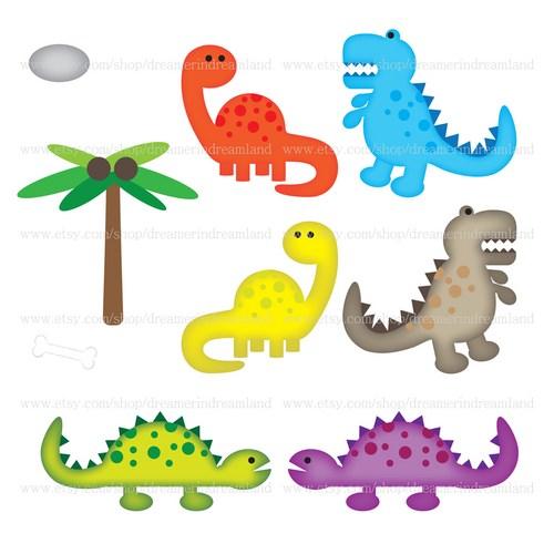 Printable Dinosaur Clipart #1 .-Printable Dinosaur Clipart #1 .-15