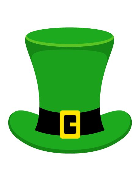 Printable Leprechaun Hat Photo Booth Pro-Printable leprechaun hat photo booth prop. Create DIY props with our free PDF template at-15