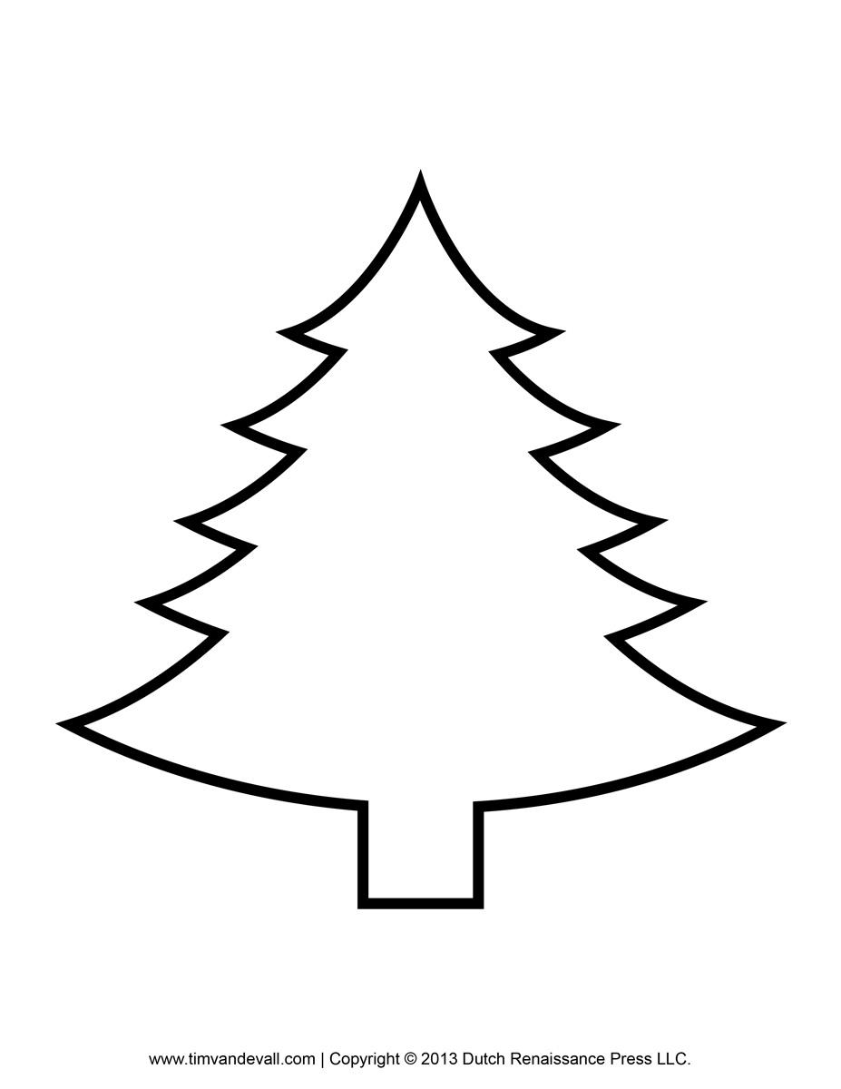 photograph regarding Christmas Tree Outline Printable identified as 16+ Xmas Tree Determine Clip Artwork ClipartLook